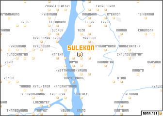 map of Sulekon