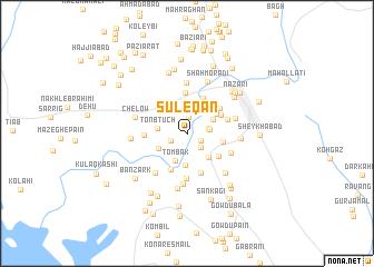 map of Sūleqān