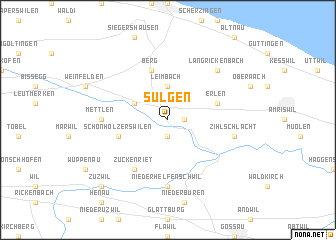 map of Sulgen