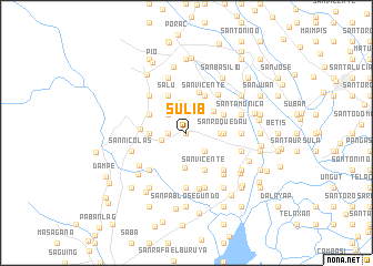 map of Sulib