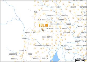 map of Sulib