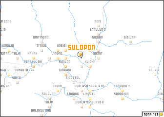 map of Sulopon