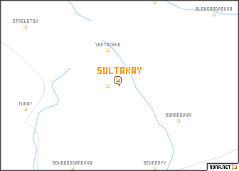 map of Sultakay