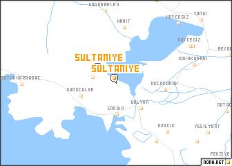 map of Sultaniye