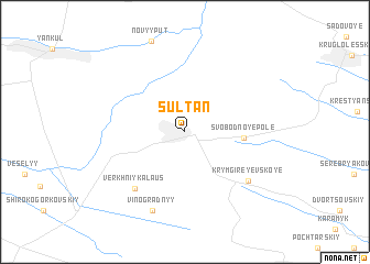 map of Sultan