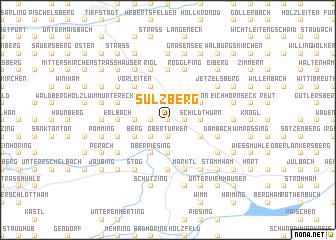 map of Sulzberg