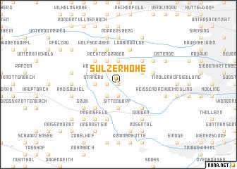 map of Sulzer Höhe