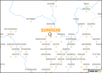 map of Sumangho