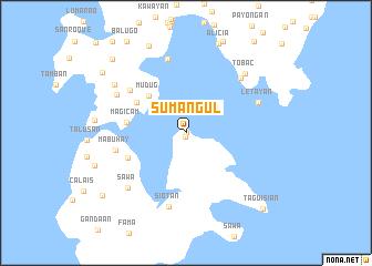 map of Sumangul