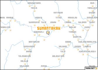 map of Sumantakaw