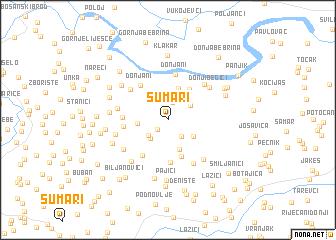 map of Šumari