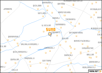 map of Suma