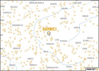 map of Sumbići