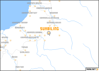 map of Sumbiling