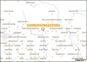 map of Šumburk nad Desnou