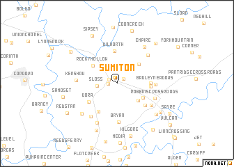 map of Sumiton