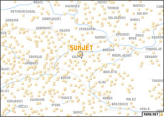 map of Sumjet