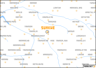 map of Sumkwe