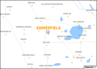 Summerfield Florida Map.Summerfield United States Usa Map Nona Net