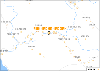 map of Summerhome Park