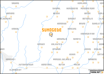 map of Sumogede