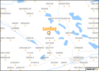 map of Sumowo