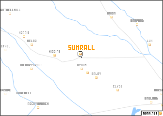 map of Sumrall