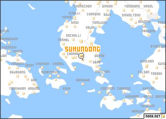 map of Sumun-dong