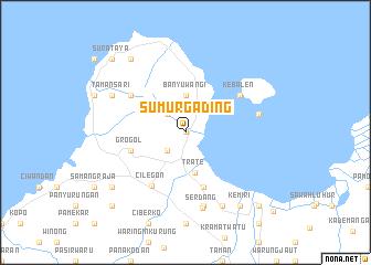 map of Sumurgading