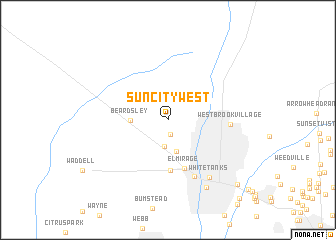 map of Sun City West