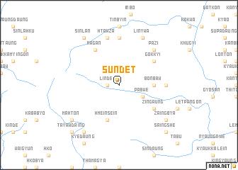 map of Sundet