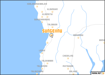 map of Sungēi-I-nu