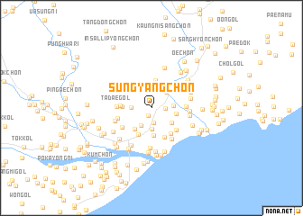 map of Sungyang-ch\