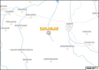 map of Sunjiajie