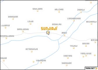 map of Sunjiaji