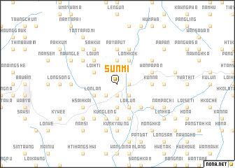 map of Sunmi