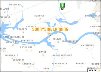 map of Sunnyside Landing