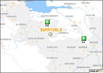 map of Sunnyvale