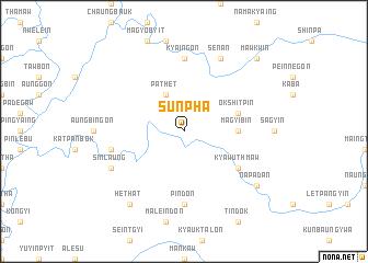 map of Sunpha