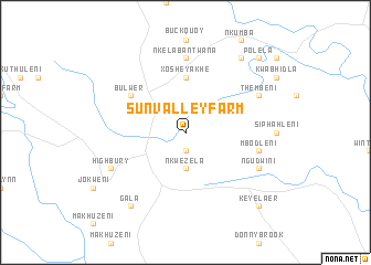 map of Sun Valley Farm