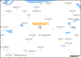map of Suoknuuti