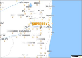 map of Sūpar Beyg