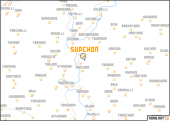 map of Supch\
