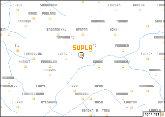 map of Supla