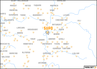 map of Supo