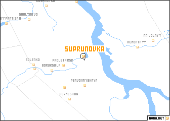 map of Suprunovka