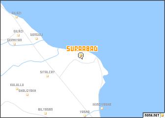 map of Şuraabad