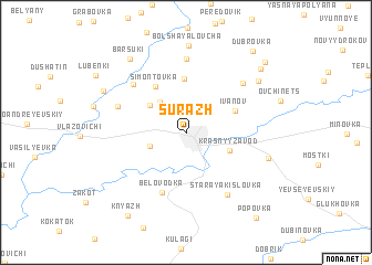 map of Surazh