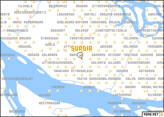 map of Surdia