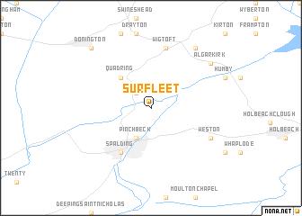 map of Surfleet